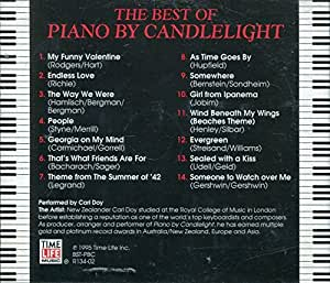 The Best Of Piano By Candlelight