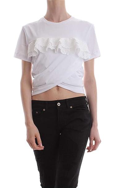 c2ab0e40176981 PINKO SETTER T-SHIRT E CANOTTE Donna Bianco XS: Amazon.it: Abbigliamento
