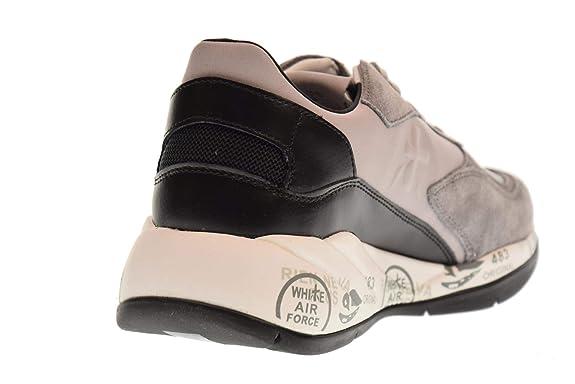 ae69f45458 PREMIATA Scarpe Donna Sneakers Basse Scarlett 3485 Nero Grigio ...