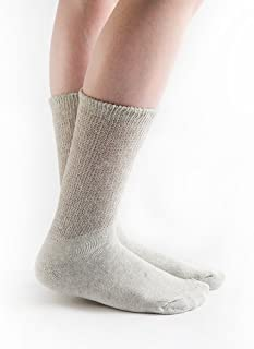 product image for Doc Ortho Loose Fit Diabetic Socks, 3 Pairs, Crew