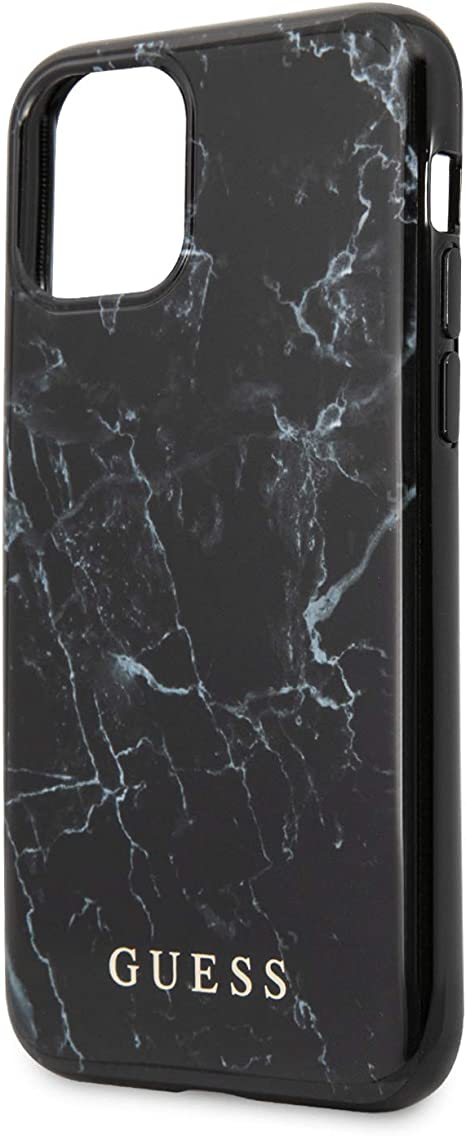 Guess Schutzhülle Für Apple Iphone 11 Pro Max Marmor Design Schwarz Elektronik