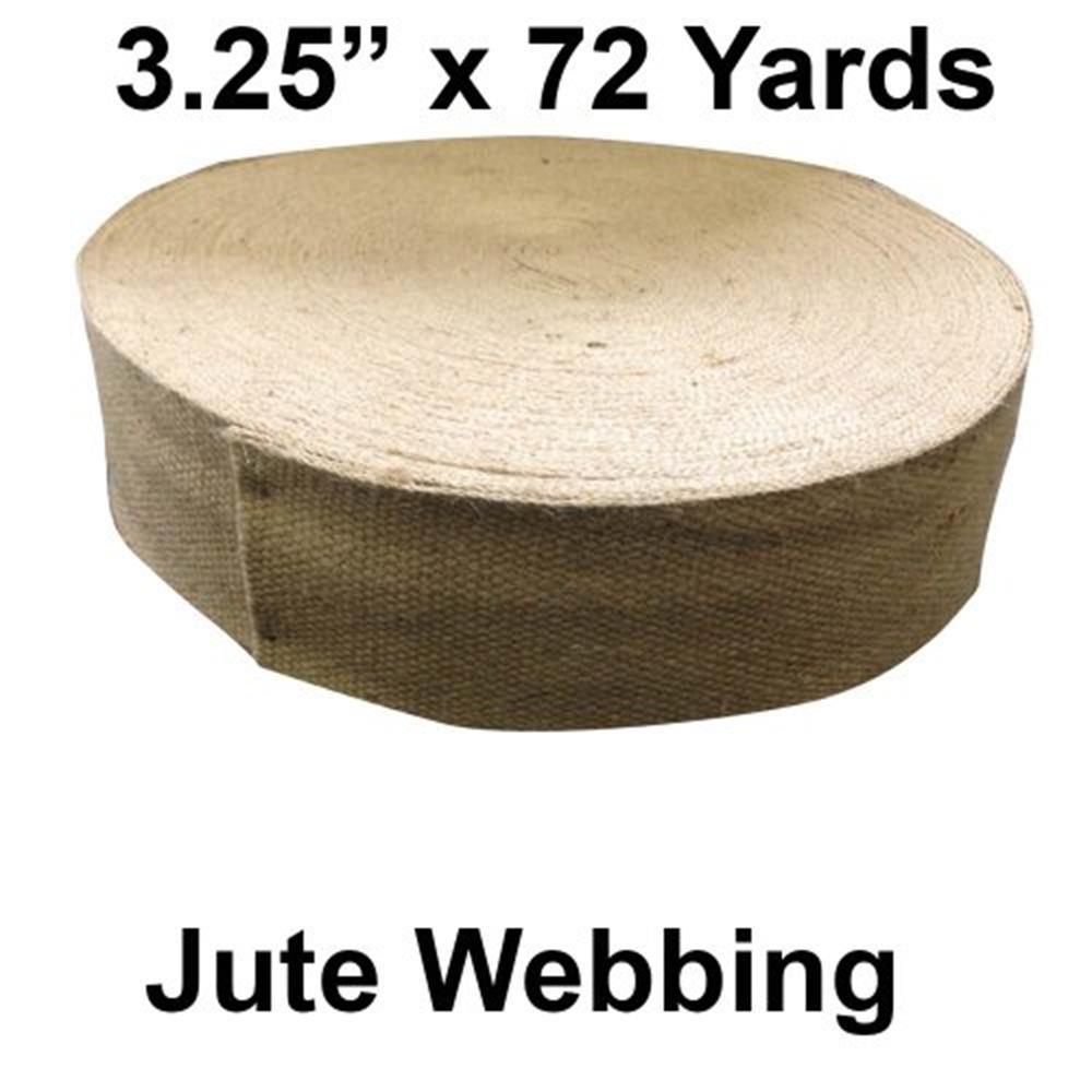 Jute Webbing - 72 Yard Roll (3.25 - Natural Color) HomeTex
