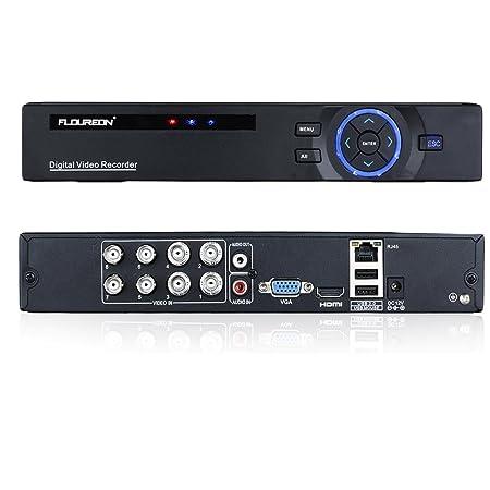 floureon 8ch 720p ahd realtime cctv hdmi h 264 video recorder dvr rh amazon co uk H.264 Network DVR H.264 Network DVR Setup