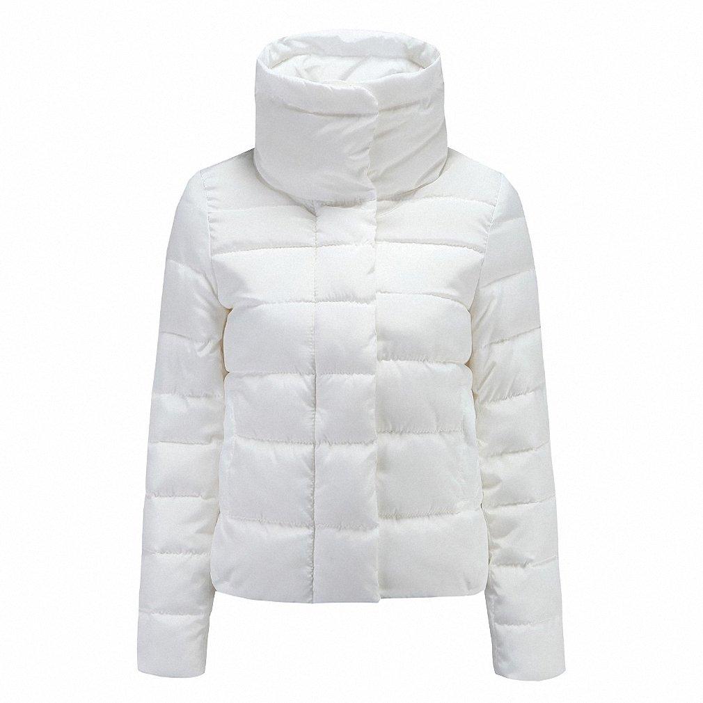 Hiuwa Womens Parka Autumn Winter Jacket Coat Down Jacket Casual Jackets Parka Wadded