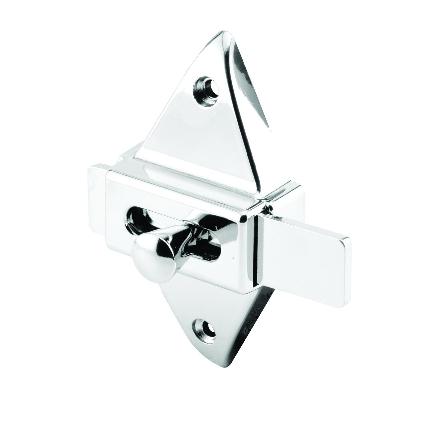 Sentry Supply 650-6599 2-3//4 Hole Center Spacing Brass Construction Chrome Plated Slide Latch