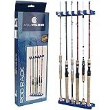 Suporte de vara Pesca Brasil Rod Rack até 6 varas