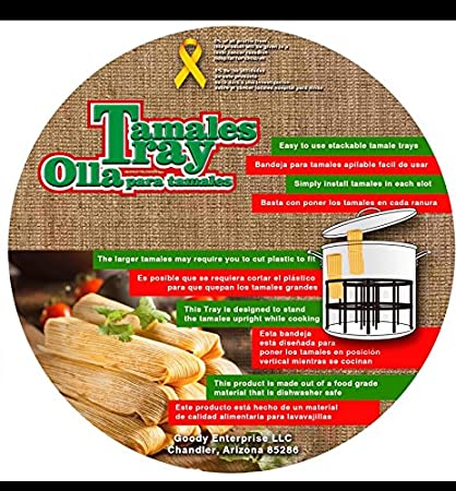 Tamale Stackable Tray