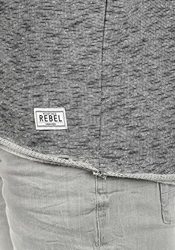 Cremallera Sudadera Chaqueta Malik Con Capucha Rebel Grey Antracit Hombre Redefined Hoodie Para CqSWzx