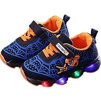 2019 Otoño Nuevos Zapatos Intermitentes para Niños Zapatos Deportivos para Niños Zapatos Spider-Man Zapatos De Suela…