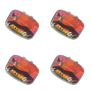 CUTICATE Portátiles Píldora Organizador Caja Viaje Medicina Divisor Tableta Dispensador Caso - 3 Pieza
