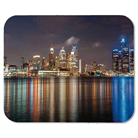 Amazon Com Detroit Decor Custom Mouse Pad Modern