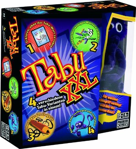 Hasbro Gaming 04199100 - Tabu XXL Partyspiel 4