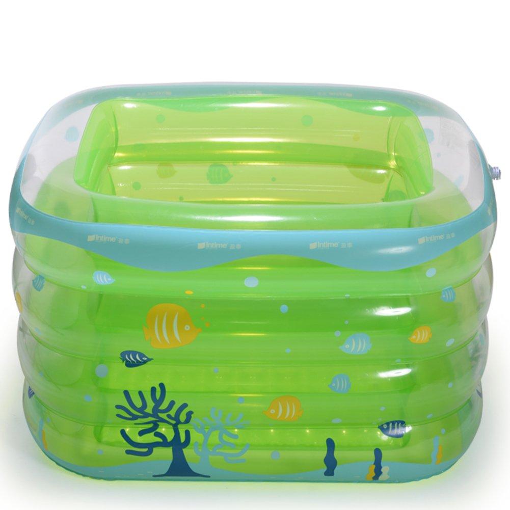 Kinderbecken/Infant jungen baby Pool/Luft isoliert Babyschale Bad/Babyschwimmen Fässer-D