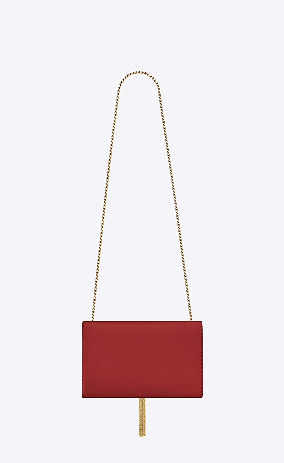 53170cbe95e45d Paper Yves Saint Laurent monogram kate with tassel kate medium with tassel  in smooth leather women Shoulder Bag Classic New (red): Handbags: Amazon.com