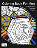 Coloring Book For Men: Totally Masculine Themes Patterns and Images (HatchDoodles Standard Color In) (Volume 1)