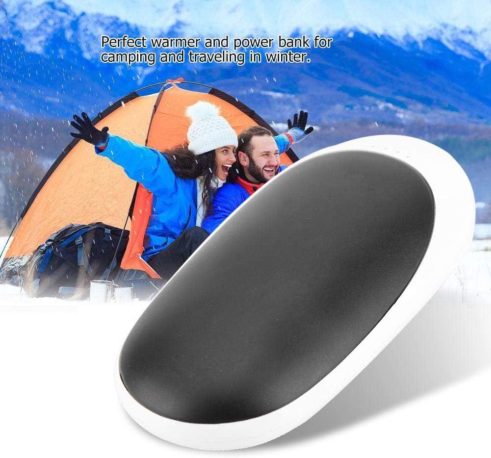 FTVOGUE R/échauffeur Rechargeable USB et Banque dalimentation 2 en 1 Mini-Chargeur de Voyage Multifonction 4000mAh