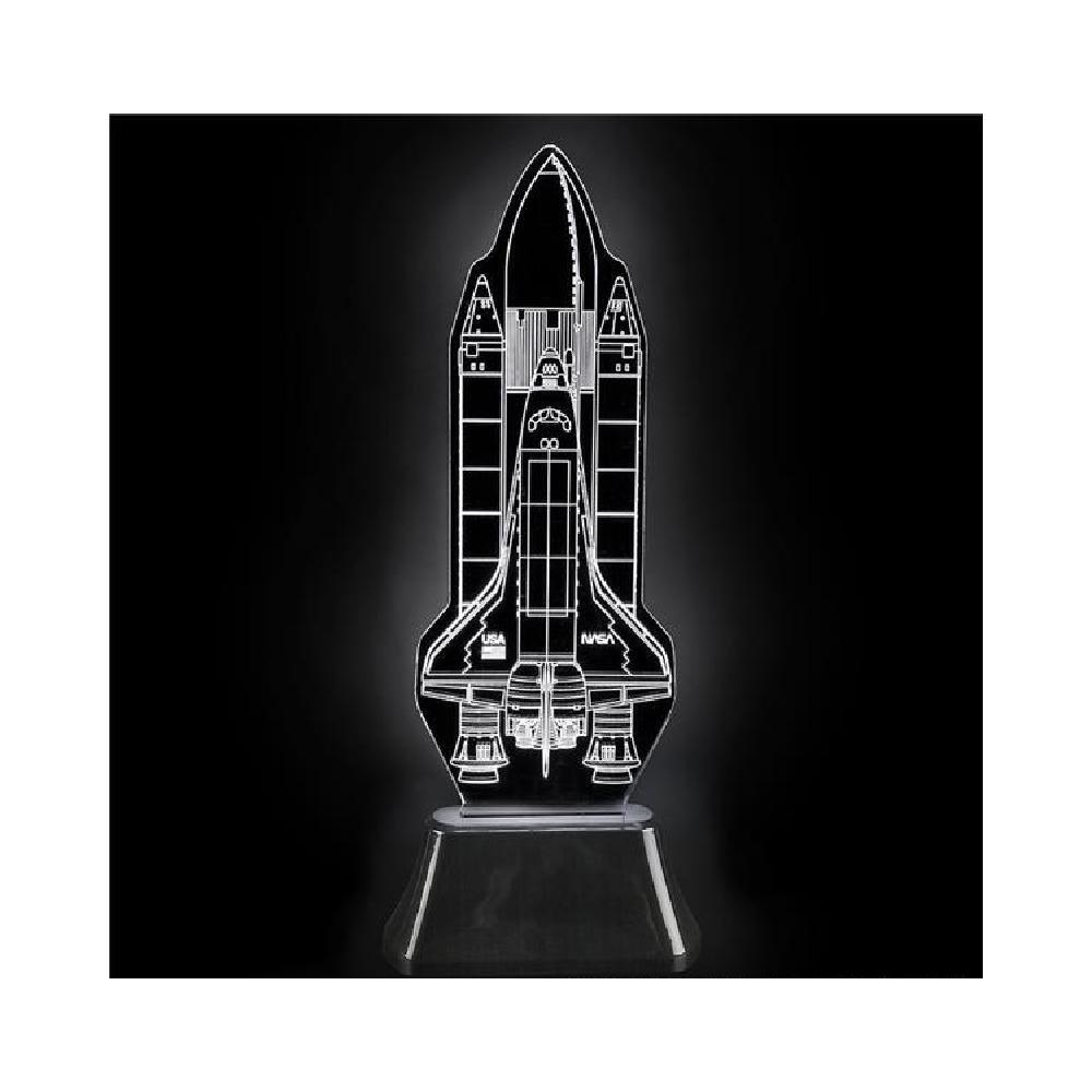 11'' 3D Laser Light Shuttle by Bargain World