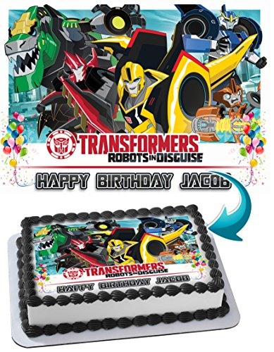 Terrific Transformers Cake Toppers Shop Transformers Cake Toppers Online Funny Birthday Cards Online Elaedamsfinfo