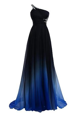 Ballkleid dunkelblau lang
