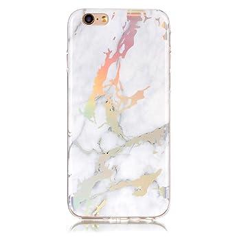 Lomogo Funda iPhone 6S / iPhone 6 Marmol, Carcasa Silicona ...