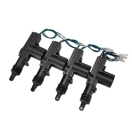 Automóvil de radio del coche universal Cierre centralizado 4 puertas Conjunto completo con control remoto