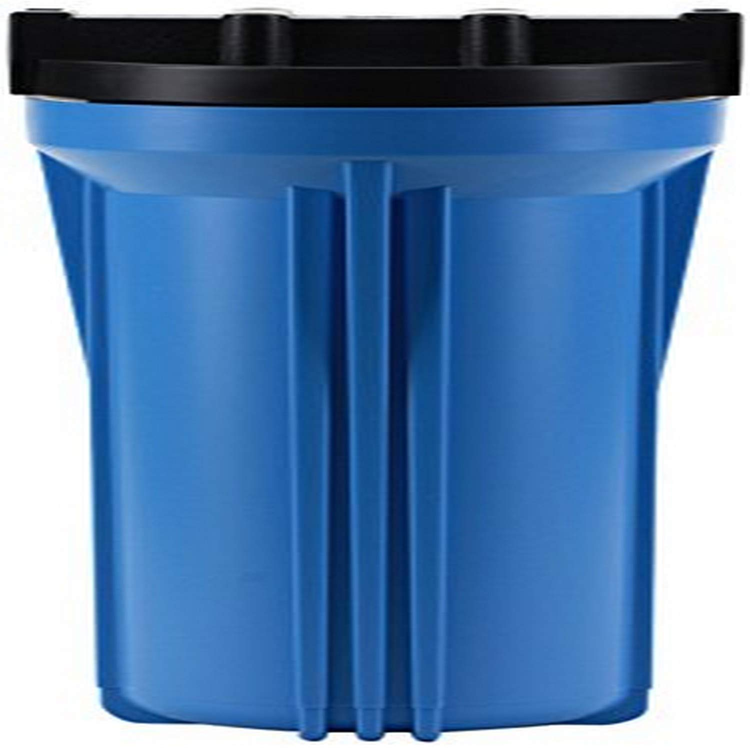 Hydronix HX-HF3-10BLBK14 10 Blue Housing with Black Rib Cap For RO /& Filtration Systems 1//4 Ports