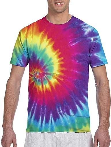 Camisetas de hombreCamisas Coloridas de Manga Corta con ...
