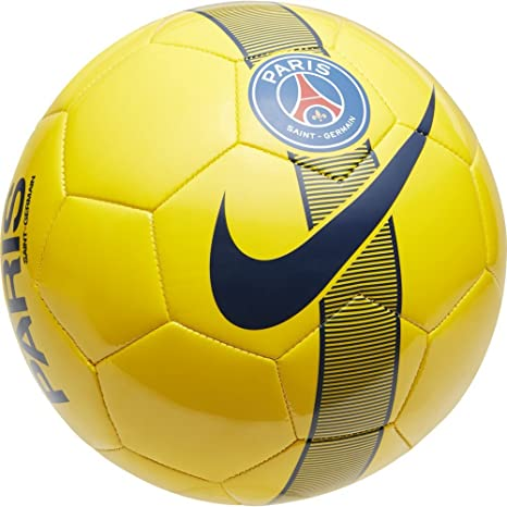 Balón fútbol amarillo del Paris Saint Germain: Amazon.es: Deportes ...