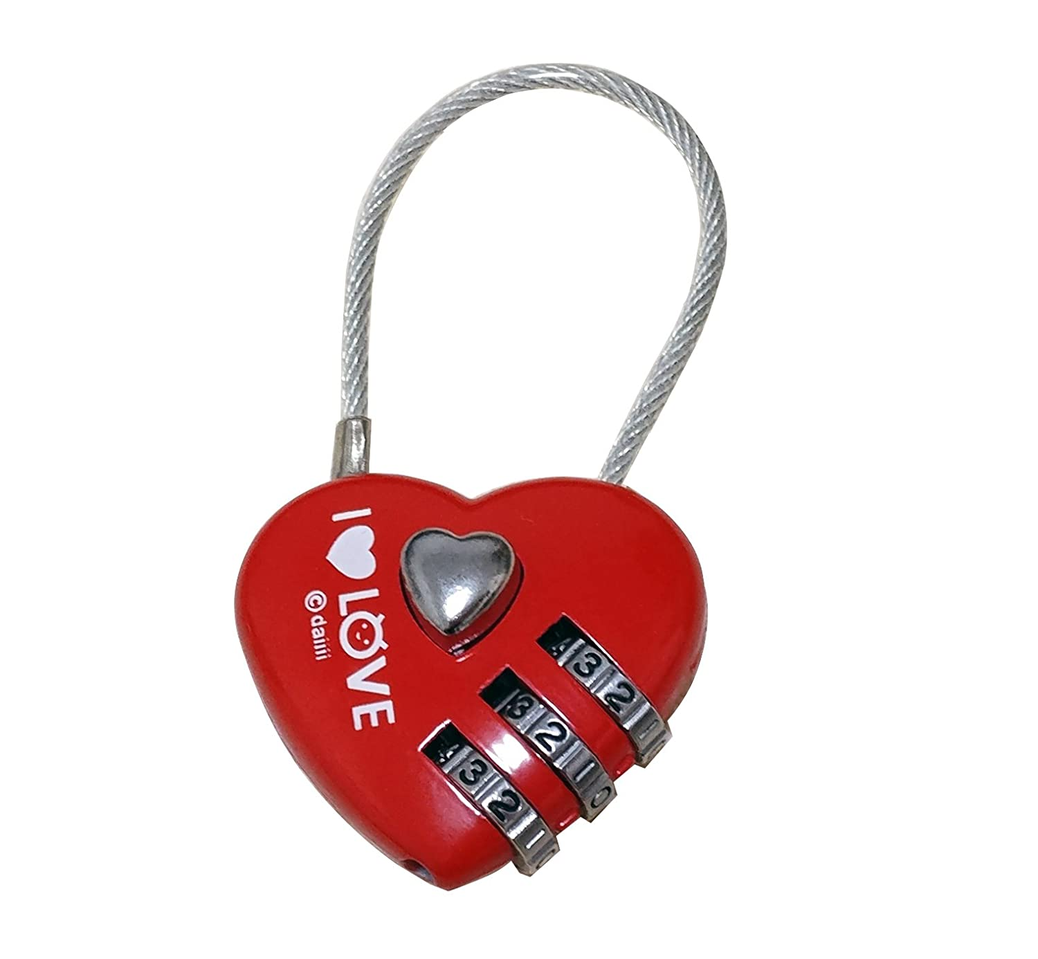 Fontee Baby Stroller Hooks Buggy Clips Aluminum Alloy Locking Fast Hang Buckle Hook Heart-Shaped with Password Lock Heart