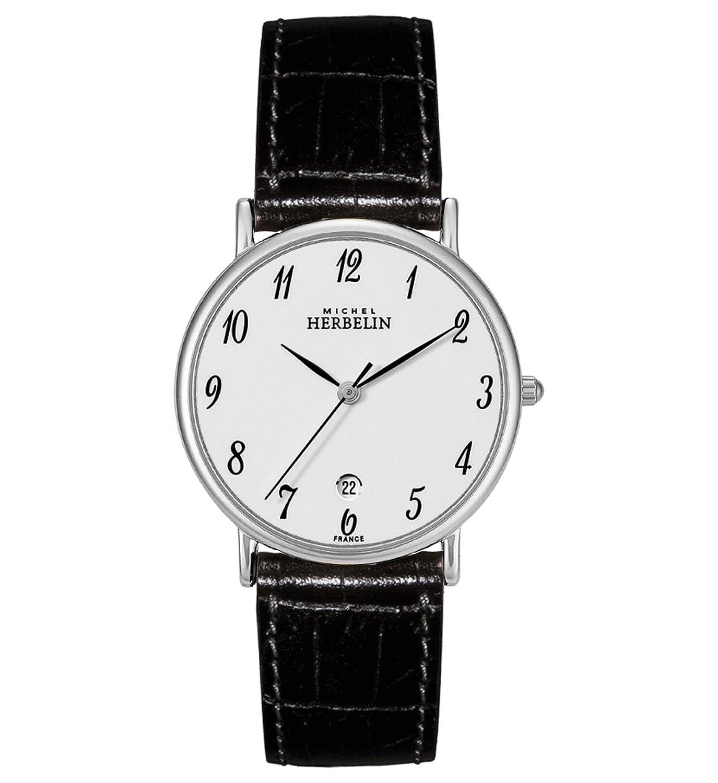[日本未販売] Michel Herbelin(ミシェル ハルベリン)Classic Strap Men's Watch 12443/s28 B004HPG2KG