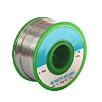 Solder Wire Lead Free Soldering Wire 1mm with Rosin Core Solder Wick  Sn99 Ag0.3 Cu0.7 2.0% Flux (100g)
