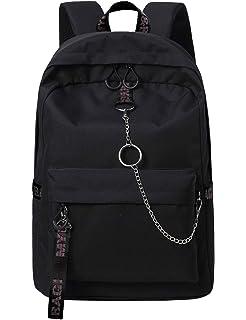 BLACK /& GREY CHECK BACKPACK RUCKSACK Checker Goth Skate School College CHOK Bag