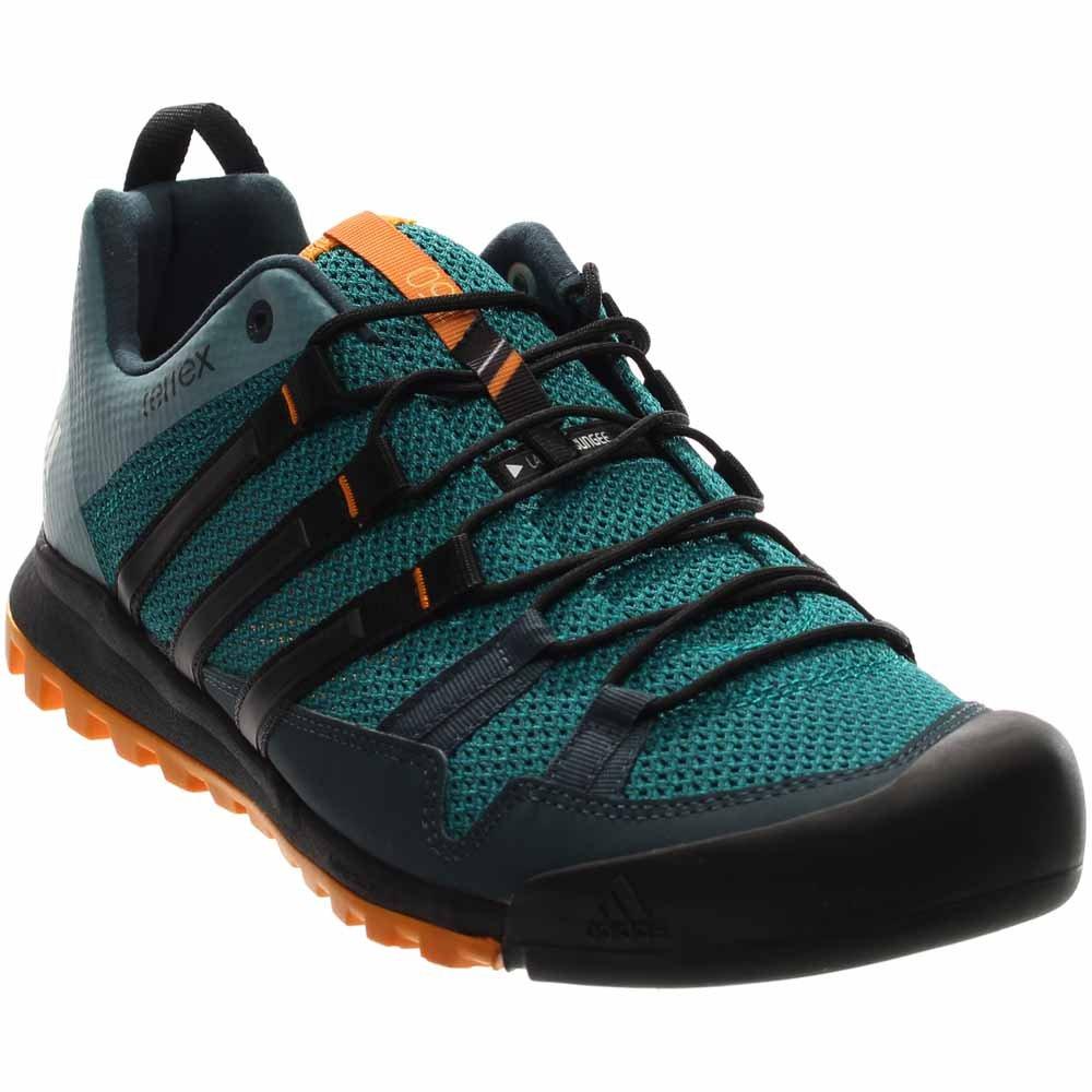 size 40 e8c94 9cf87 Galleon - Adidas Outdoor Terrex Solo Approach Shoe EQT Green Black EQT  Orange 7.5