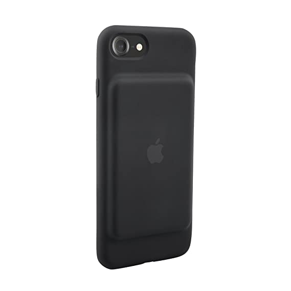check out 8ae52 f8ecd Apple iPhone 7 Smart Battery Case - Black (Renewed)