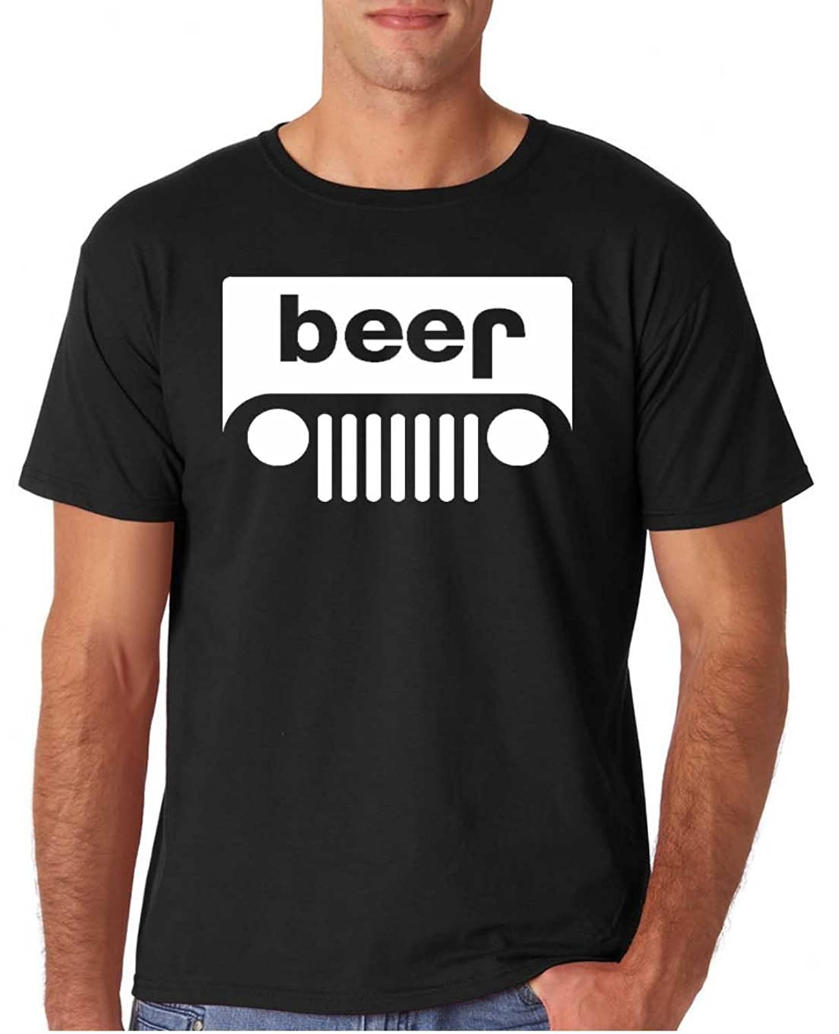 Adult Funny Beer Drinking T Shirt