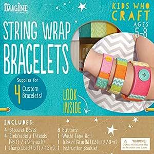 Imagine by Bendon Kids Who Craft Stick Bracelets Craft Kit (41011)