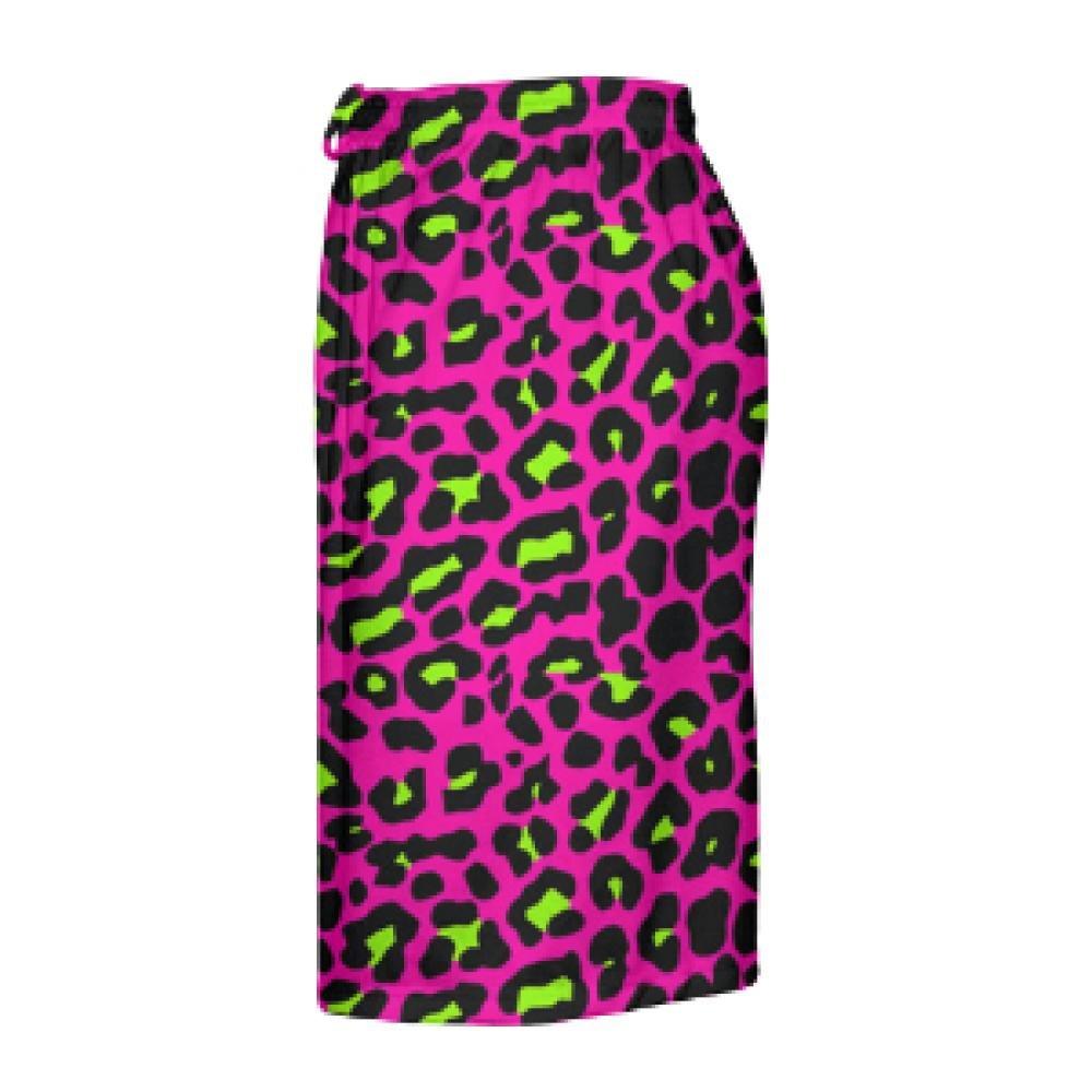 Boys Lacrosse Shorts Pink Cheetah Shorts Pink Youth Cheetah Shorts