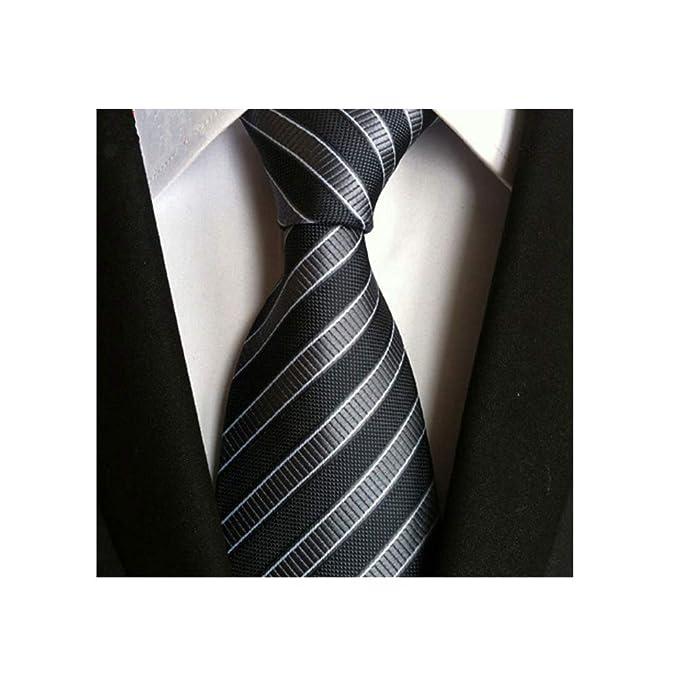 HIGGER 1 unids corbata de boda de los hombres de moda formal de ...