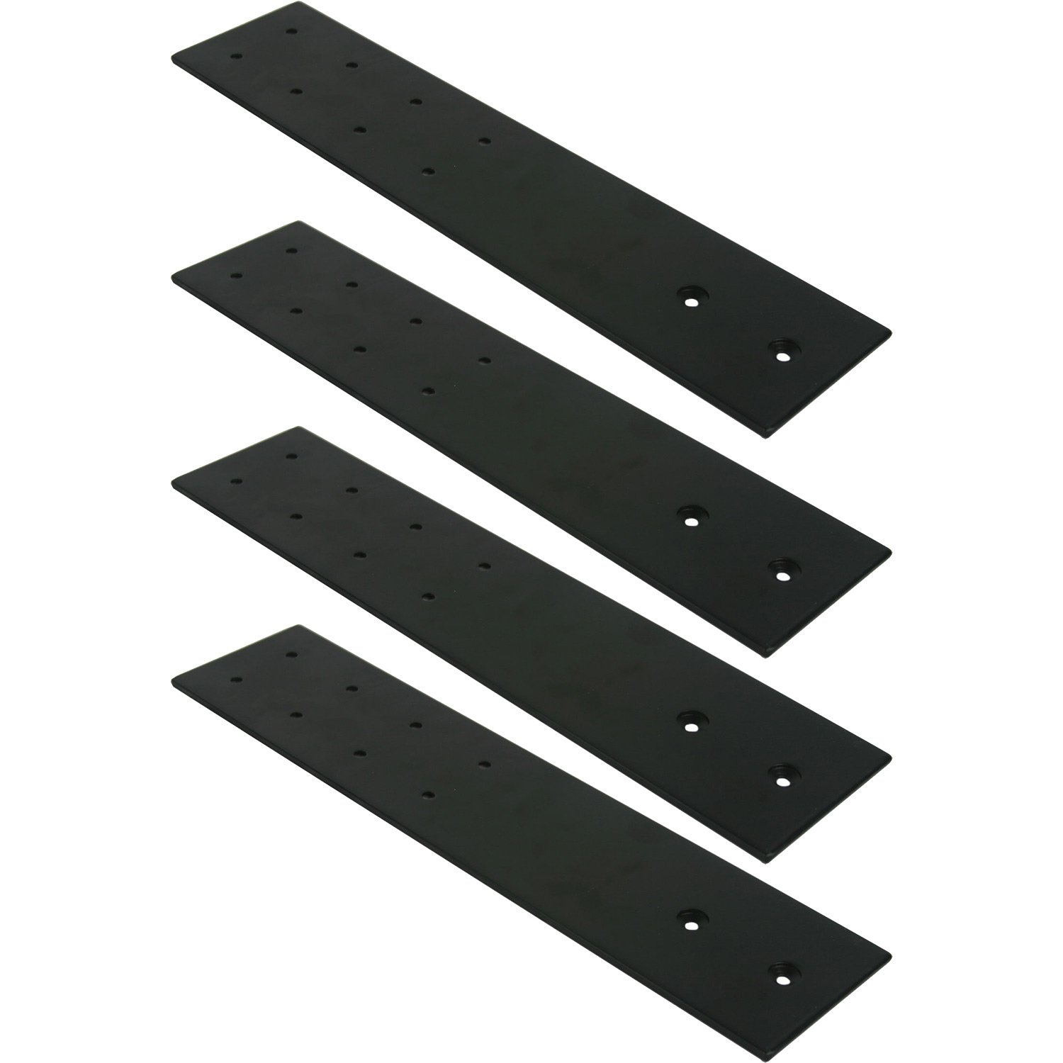 FastCap 09394 BL 3 1 2 inches x 16 inches Black SpeedBrace Stealth 300LB 4 Pack