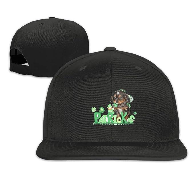 9fb556e1e1100 nordic runes St.Patrick s Day Shamrocks Irish Setter Mens Baseball Cap Flat  Bill Snapback Dad Hat for Women Black at Amazon Men s Clothing store