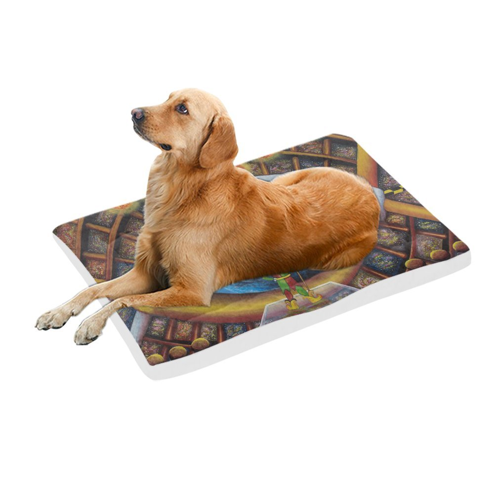 42\ your-fantasia Funny Joker Pet Bed Dog Bed Pet Pad 42 x 26 inches