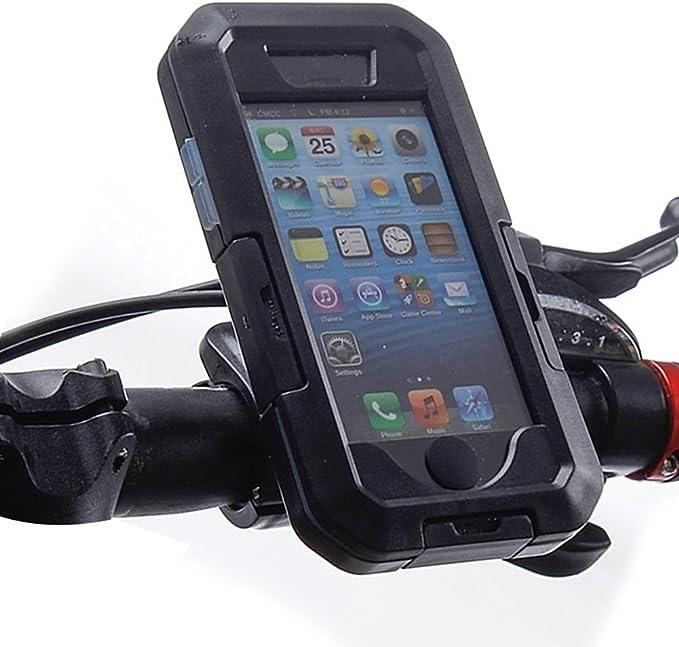 supporto custodia per iphone 6 per moto e bici cellular line