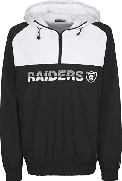 A NEW ERA Era NFL Colourblock Oakland Raiders Cortavientos ...
