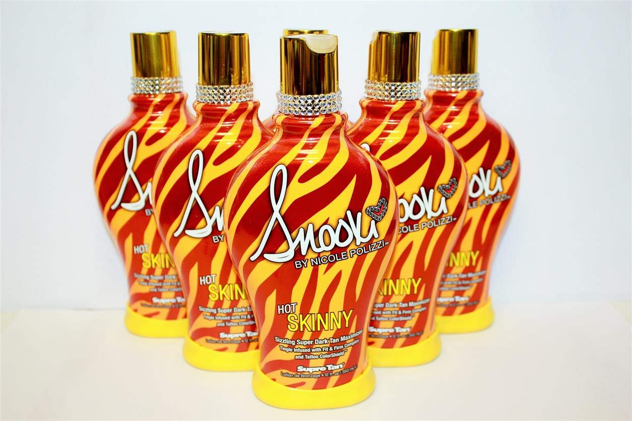 Snooki Hot Skinny Sizzling Indoor Tingle Tanning Bed Lotion By Supre Tan by Snooki