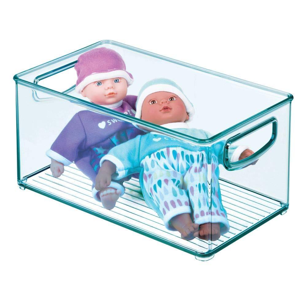 mDesign Cesta organizadora para habitación infantil - Caja ...