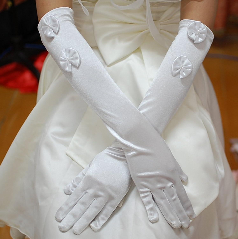 缎面长手套吧_夏季防晒手套薄款婚纱