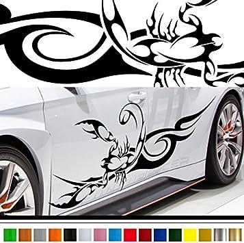 1set scorpion auto Car Vinyl Whole Body Graphic Decal Sticker Style Decor emblem