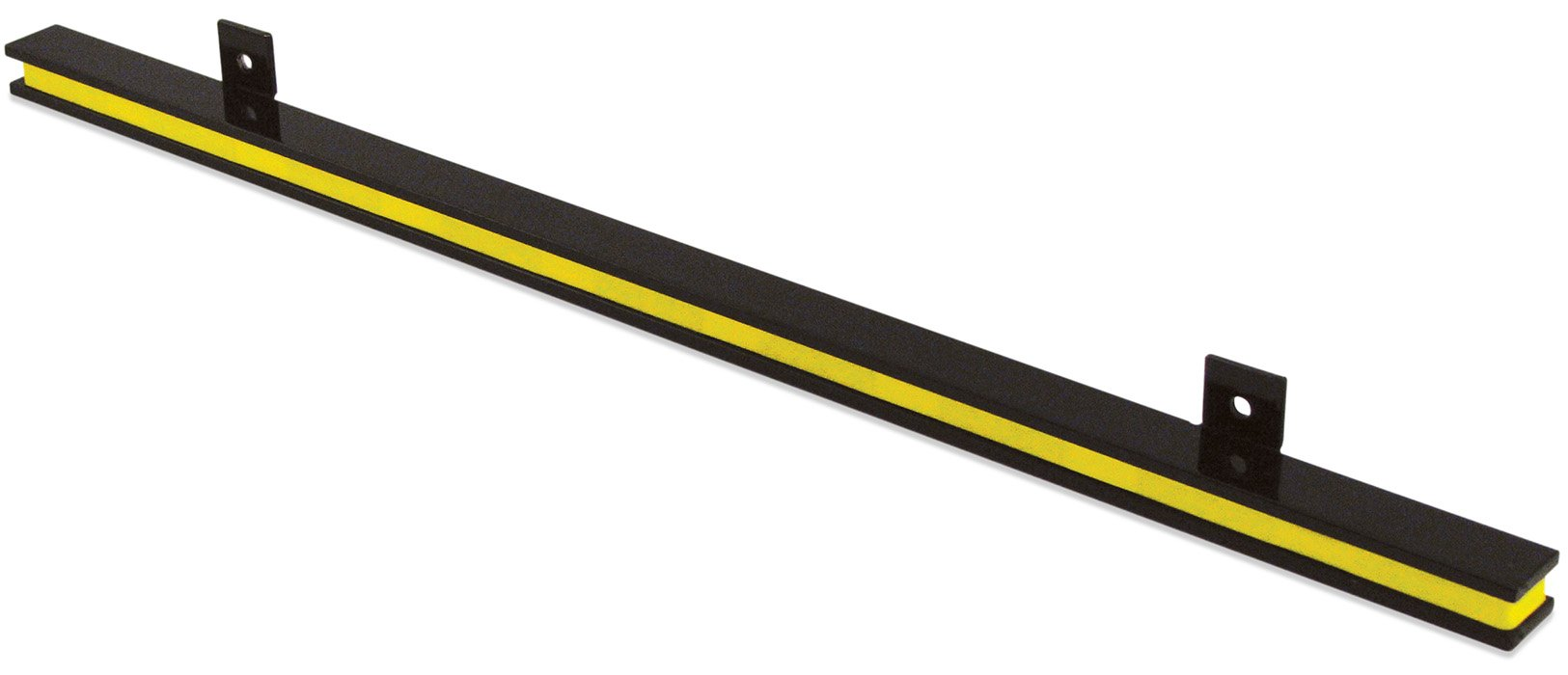 Master Magnetics AM1PLC Magnetic Tool Holder, 24'' Wide, 20 lb per inch, Black Powder Coat with Yellow Stripe