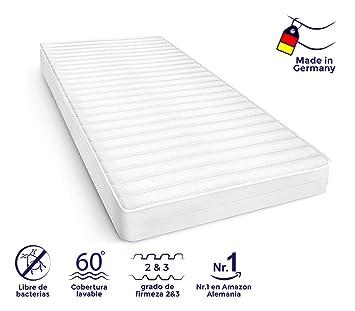 Colchón de Espuma fría, firmeza del colchón Grado 2 & 3, 7 Zonas,