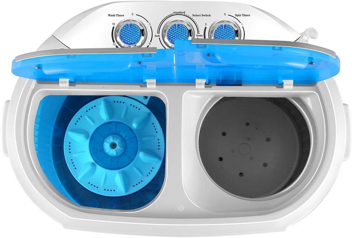 Dawoo Lavadora portátil Daewoo 220V, mini lavadora, lavadora ...